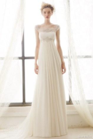 A Line Empire Waist Wedding Dress