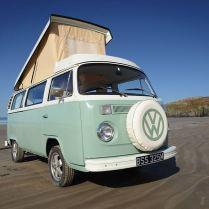 Vintage Vw Campervan Hire In North Wales