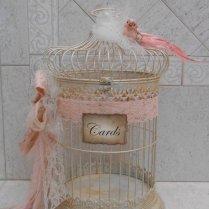 Birdcage Wedding Card Holder Shabby Birdcage Vintage Wedding