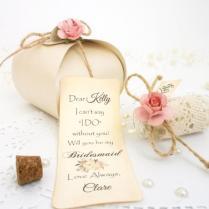 Bridesmaid Proposal Will You Be My Bridesmaid Invitation Message
