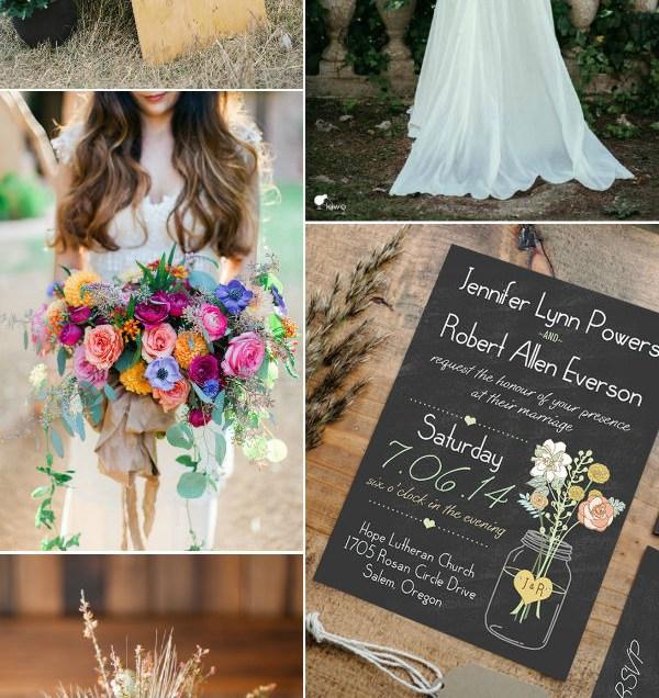 Five Rustic Wedding Themes With Mason Jars – Elegantweddinginvites
