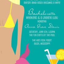 Sweet Wishes' 10 Bridal Shower Lingerie Bachelorette Beach Pool