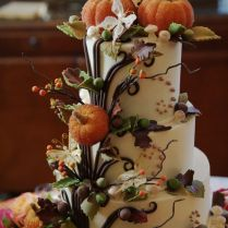 Enchanted Cake Design By Patty Cakes Photo By Ace Photography