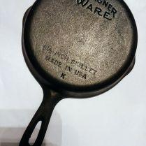 Vintage Wagner Ware Cast Iron Skillet 6