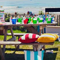 End Of Summer Vintage Beach Party Planning Ideas Supplies Idea