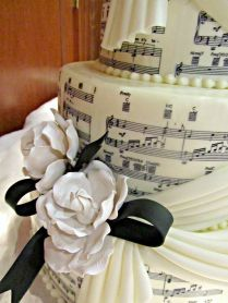 Music Lover Wedding Cake Idea