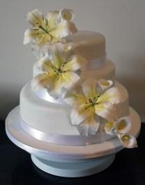 Finally Made My Own Wedding Cake! Â« Delicious Cake Design's Blog