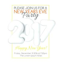 Invitation For New Year Celebration 20 Find Lots Of Creative New