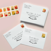 Address Template For Wedding Invitations