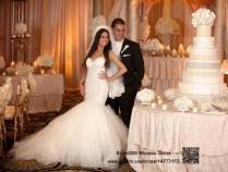 Gorgeous Tulle Bottom Mermaid Wedding Dress