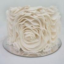 Tutorial Vintage Ruffle Cake