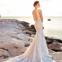 20 Stunning Open & Low Back Wedding Dresses For 2017 Brides