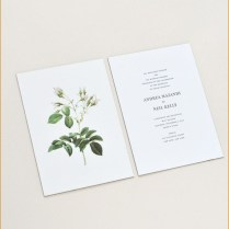 Lovely Sunrise Wedding Invitations