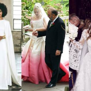The Best Celebrity Wedding Dresses Of All Time