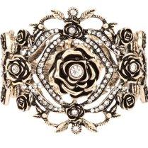 Vintage Inspired Bridal Cuff Bracelet