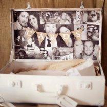 Vintage Suitcase Wedding Card Box Ideas With Photo Displays