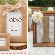 35 Most Appealing Wedding Table Number Ideas