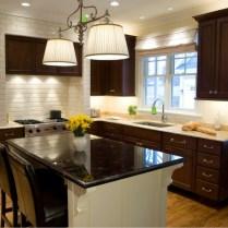 2017 New Design Armoires De Cuisine Solid Wood Kitchen Cabinet