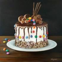 Cake Design Painting By Anna Rita Angiolelli
