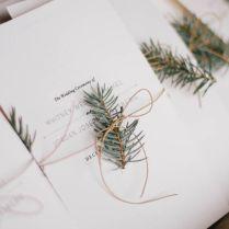 Winter Wedding Invitations Best Photos