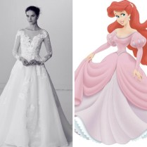 How To Dress Like A Disney Princess On Your Wedding Day