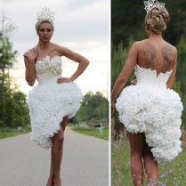 You'll Never Guess What These Outrageous Wedding Dresses Are Made