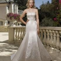 Casablanca Bridal 1985 Wedding Dress