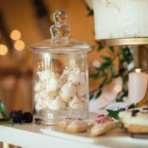 Beautiful Wedding Cake Table Styled By The Rustic Wedding Company