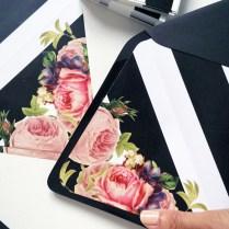 Diy Wedding Invitation Envelope Liners – My Little Secrets