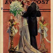 Ring Around A Rosy June 1931 Illustration Of A Wedding On The