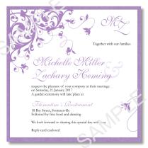 French Wedding Invitation Wording