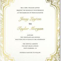 Ornate Petals Wedding Invites