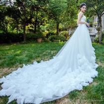 Light Wedding Dress, 2018 New Styles, European And American