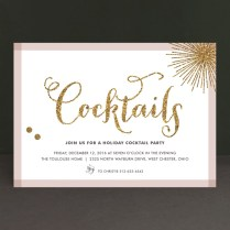 Holiday Bling Holiday Party Invitations By Carrie Oneal