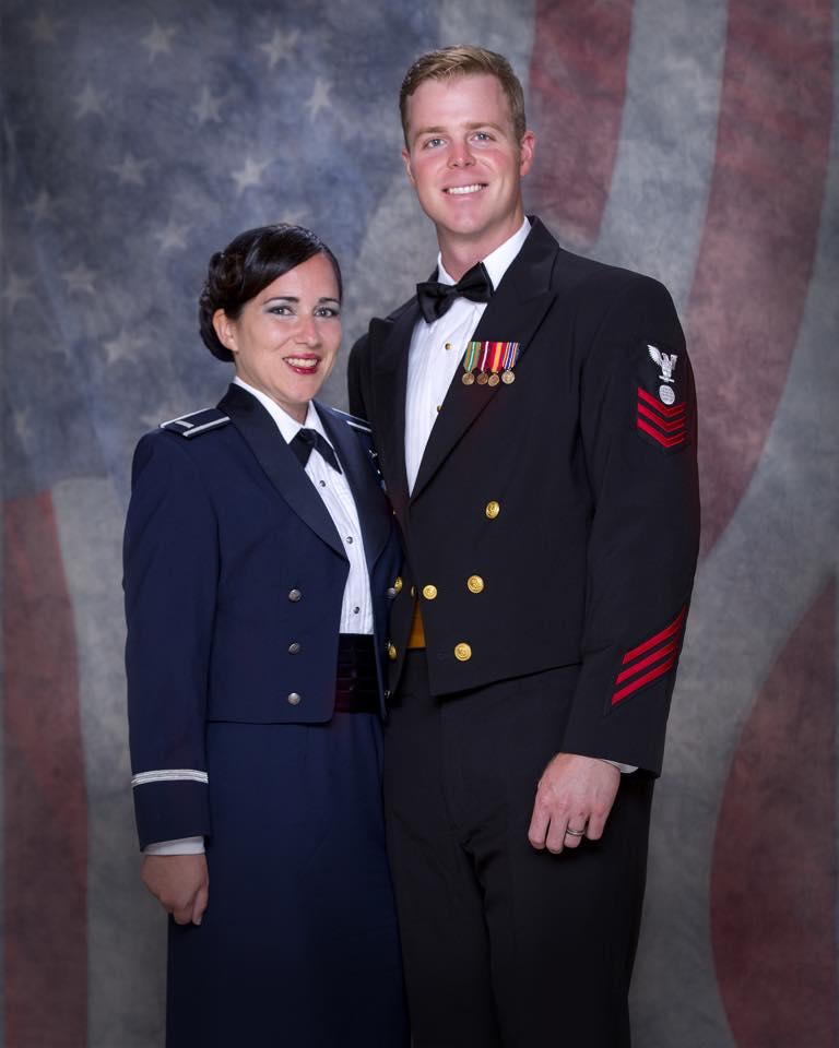 Air Force Mess Dress Party Shirt