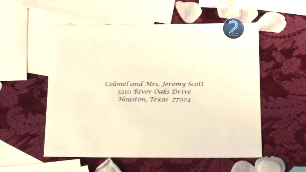 how to address wedding invitations for a plus one