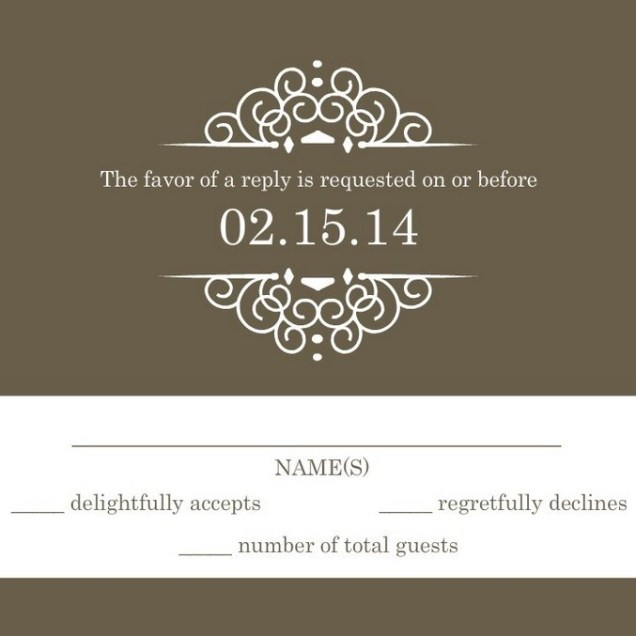 Rsvp Wedding Wording Also Wedding Rsvp Wording Adults Only Also