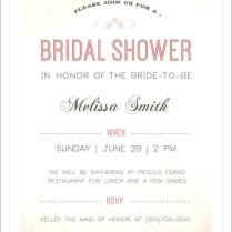15 Wedding Shower Invitation Wording