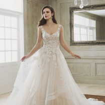 This Elegant Wedding Dress From Sophia Tolli Featuring Romantic