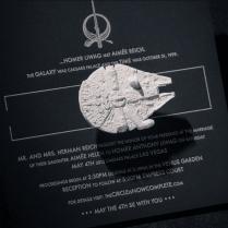 Star Wars Wedding Invitation Trumps All Other Invitations Bit