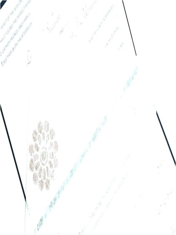 Tissue Inserts For Invitations