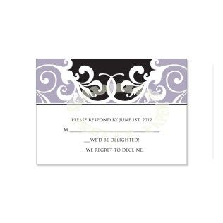 Wedding Reply Card Templates – Dauto Cards