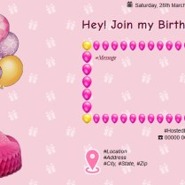 Free 1st Birthday Invitation Card & Online Invitations