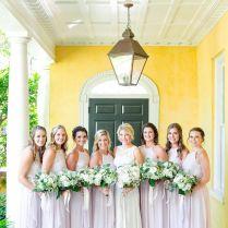 Soft Pink Lavender Bridesmaid Dresses