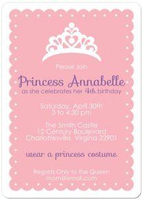 Free Printable Princess Tea Party Invitations Templates 2