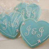 Decorating Sugar Cookies For A Wedding