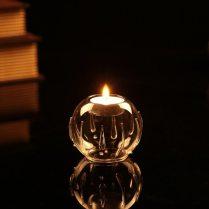 Handblown Vintage Tealight Candle Holder Votive Candle Holders