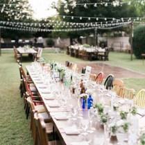 Handcrafted Mismatched Backyard Wedding ⋆ Ruffled