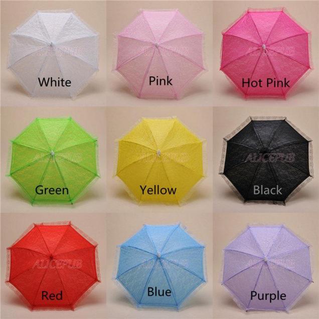Handmade Lace Umbrella, Kid Umbrella Parasol, Child Umbrella