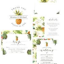 Hawaiian Bridal Ser Invitations Themed Bridal Shower Invitations